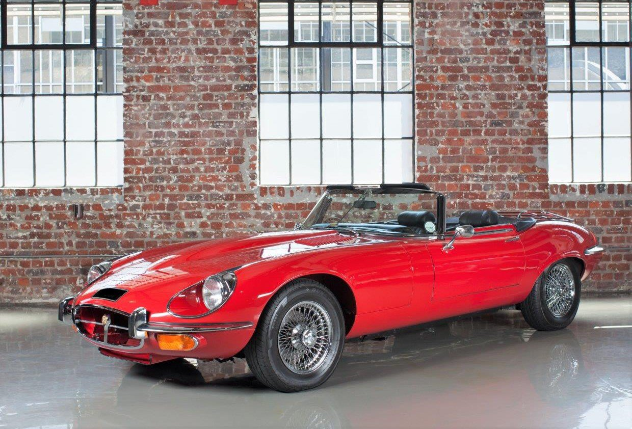 Jaguar E Type Roadster S3