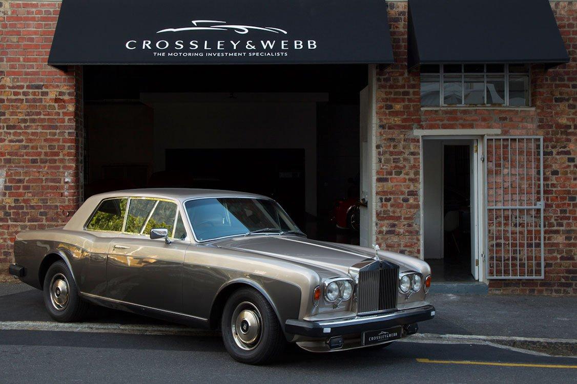 Rolls Royce Corniche Coupe Series 2