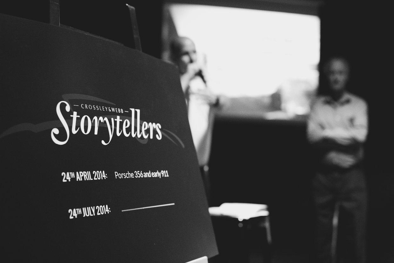 """The Porsche """"Storyteller"""" Evening - Our First One"""