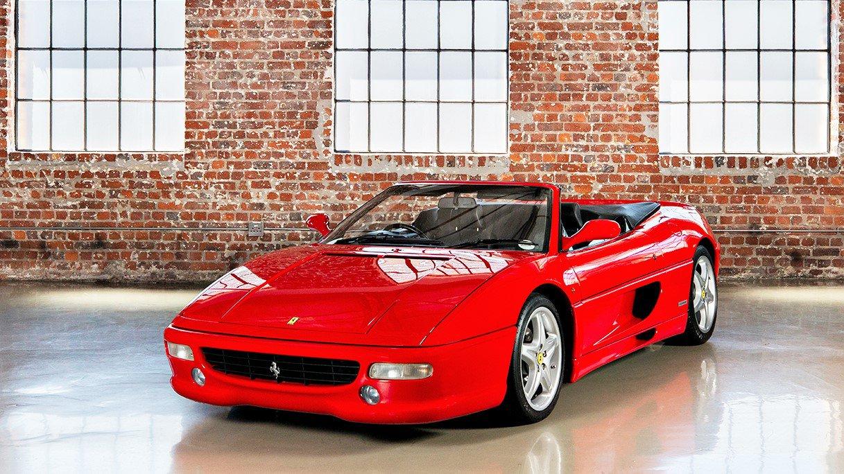 Ferrari 355 Spider - Manual