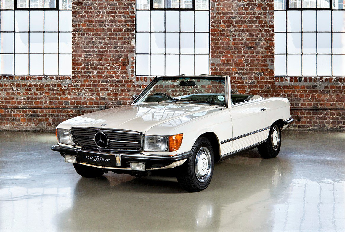 Mercedes Benz 350SL Manual