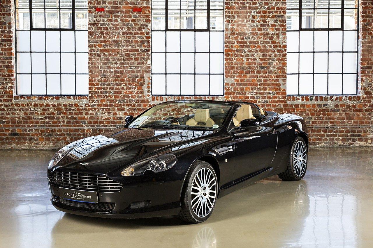 Aston Martin DB9 Volante Facelift