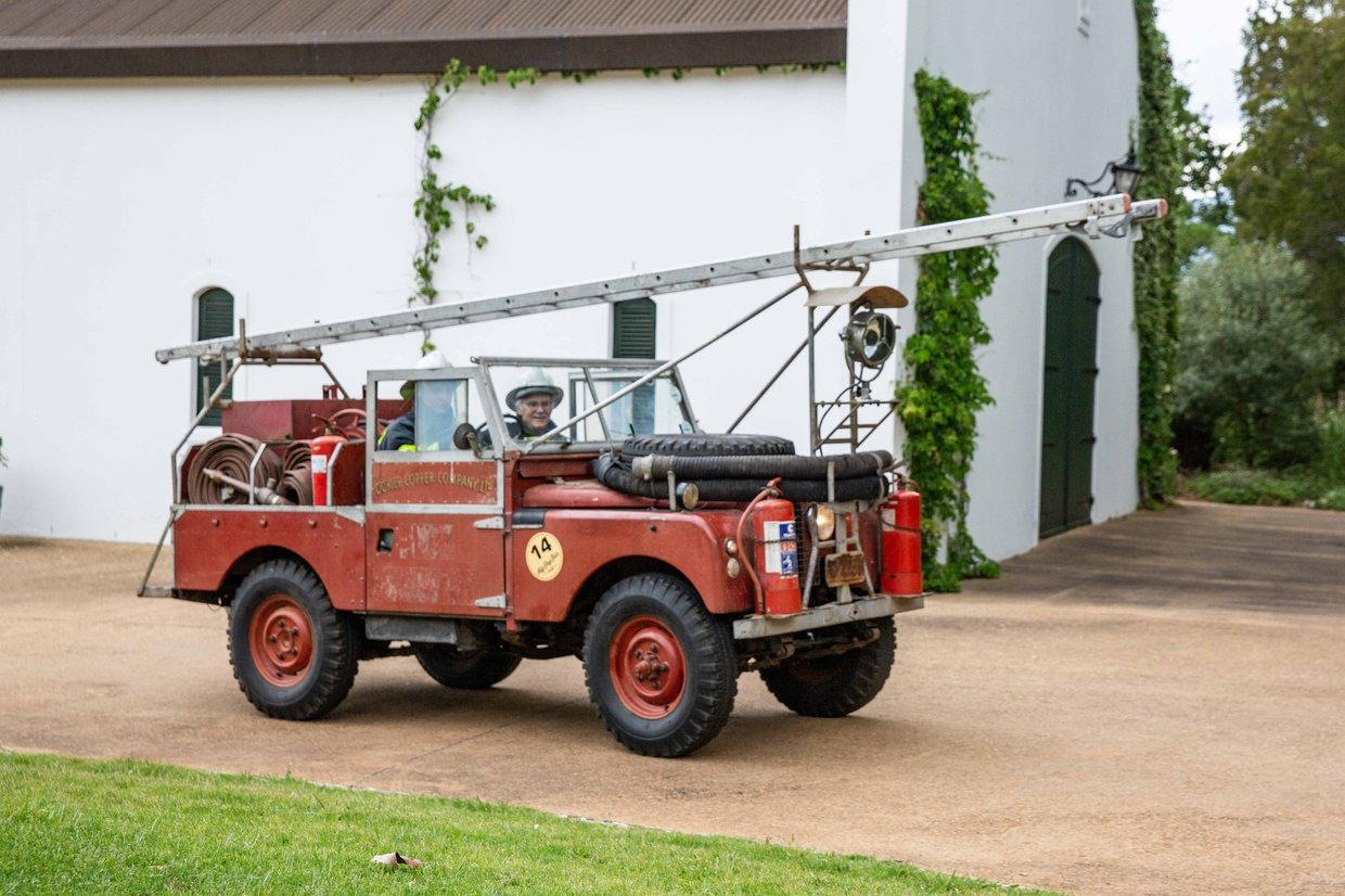 Land Rover Series 1 - Fire Engine