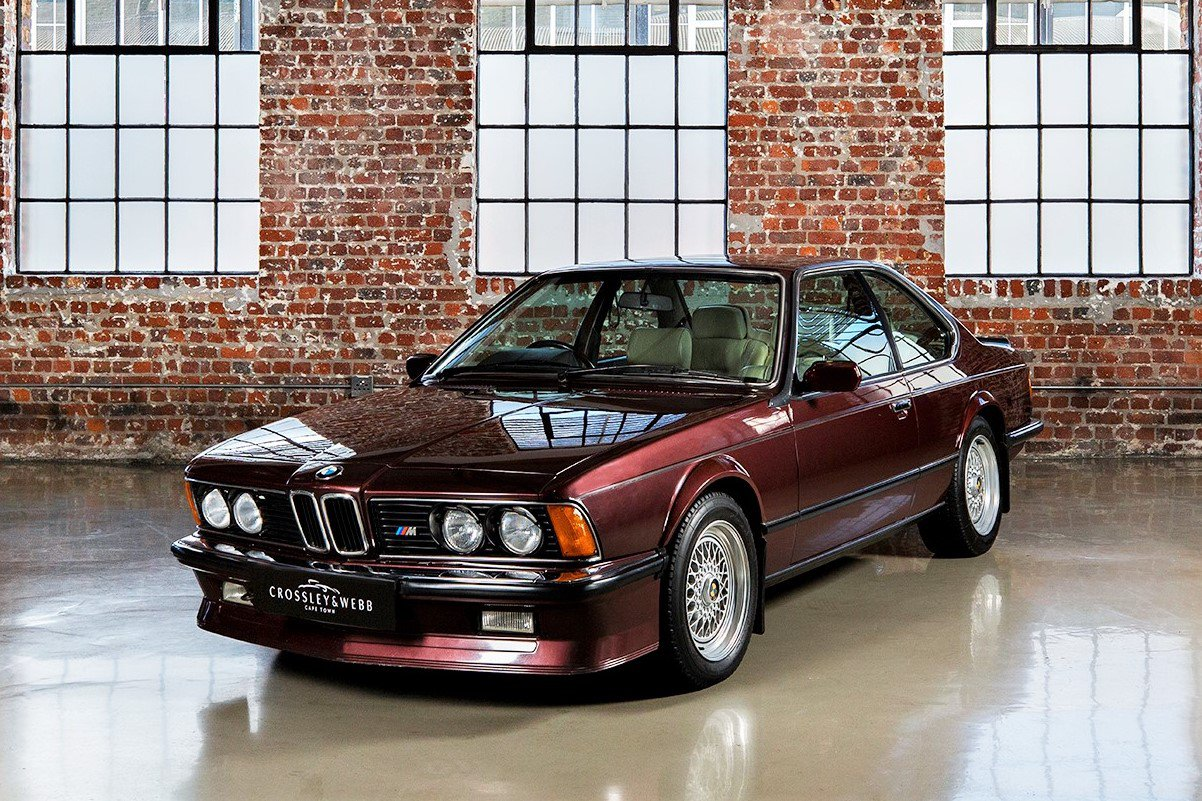BMW M635 CSI - Low Km - Sold