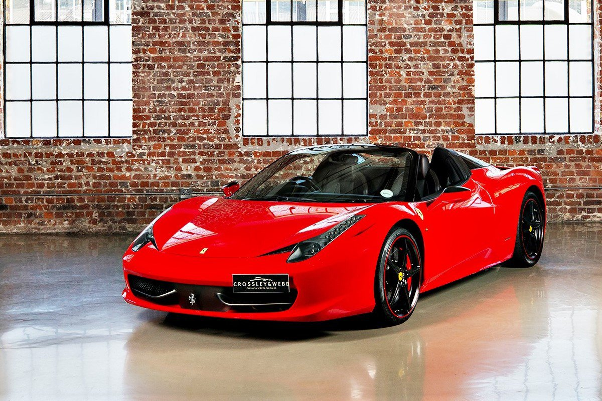 Ferrari 458 Spider - Only 8934Km - Extended Factory Warranty