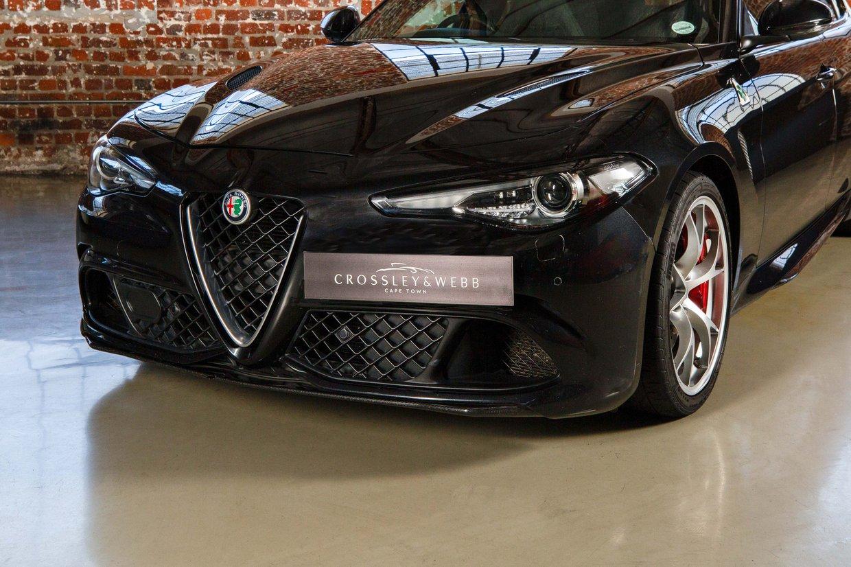 Alfa Romeo Giulia Quadrofoglio Verde