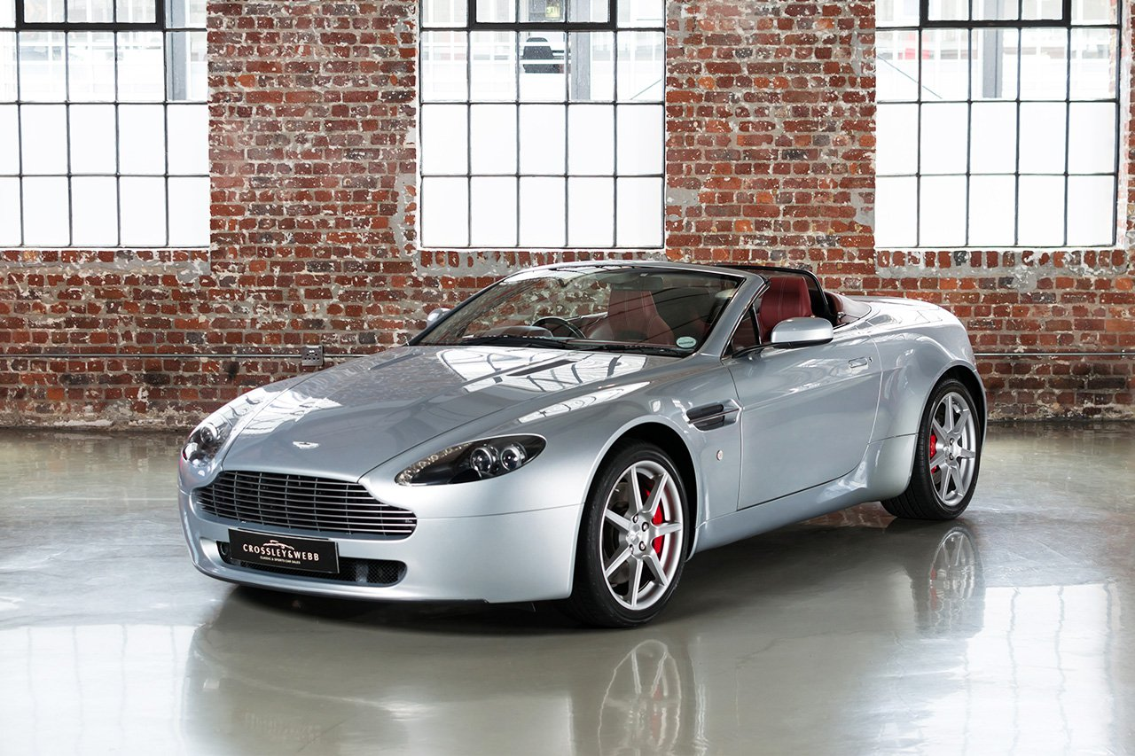 Aston Martin V8 Vantage Roadster - 49250Km