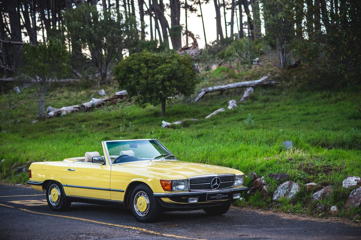 Mercedes Benz 280sl - R 107  series