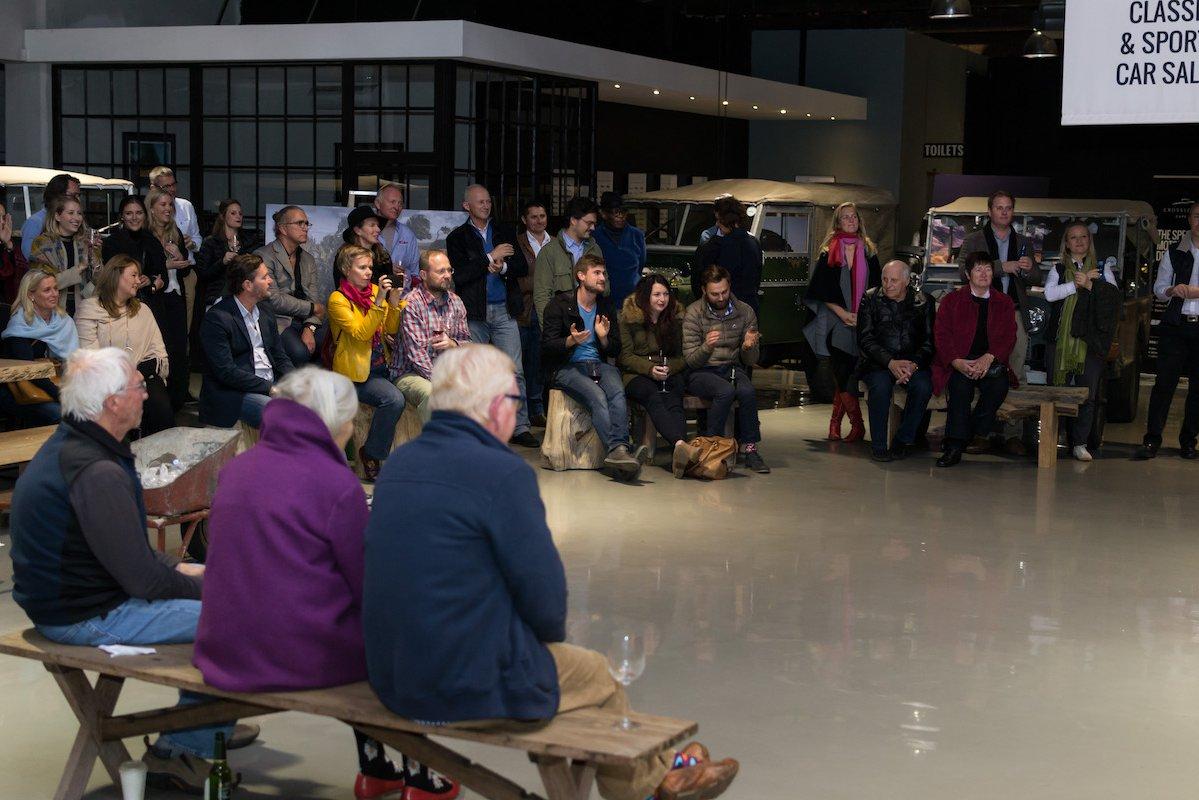 "Kingsley Holgate & Land Rover Series 1 ""Storytellers"" Evening"