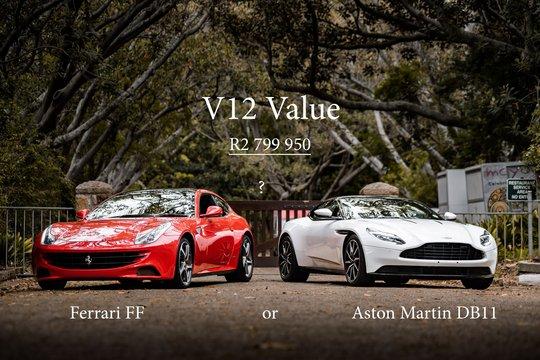 V12 Value - Aston Martin DB11 vs. Ferrari FF