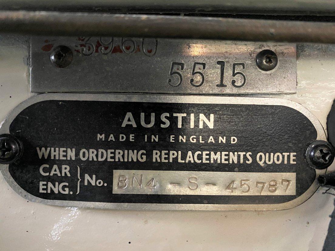 Austin Healey 100 6 - BN4 2+2 Roadster