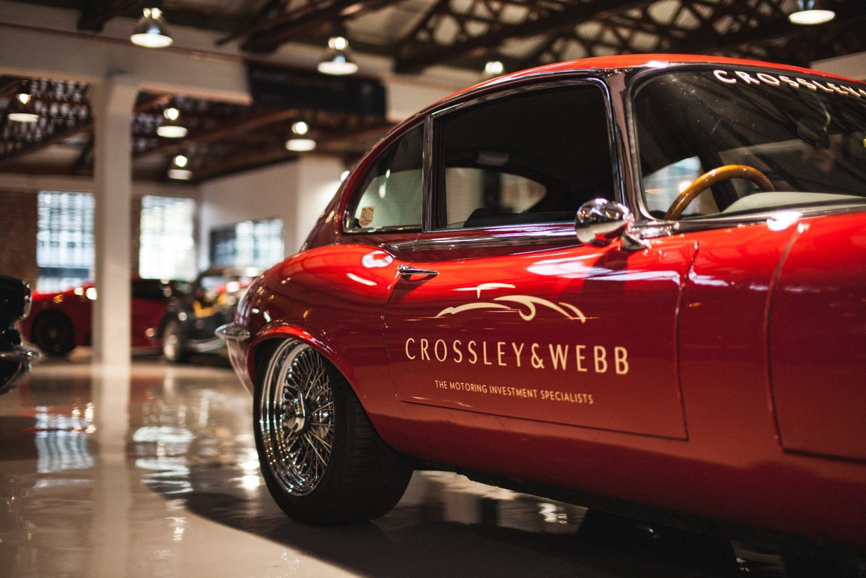 Crossley & Webb's Jaguar E Type 1st In Class At Knysna Hillclimb