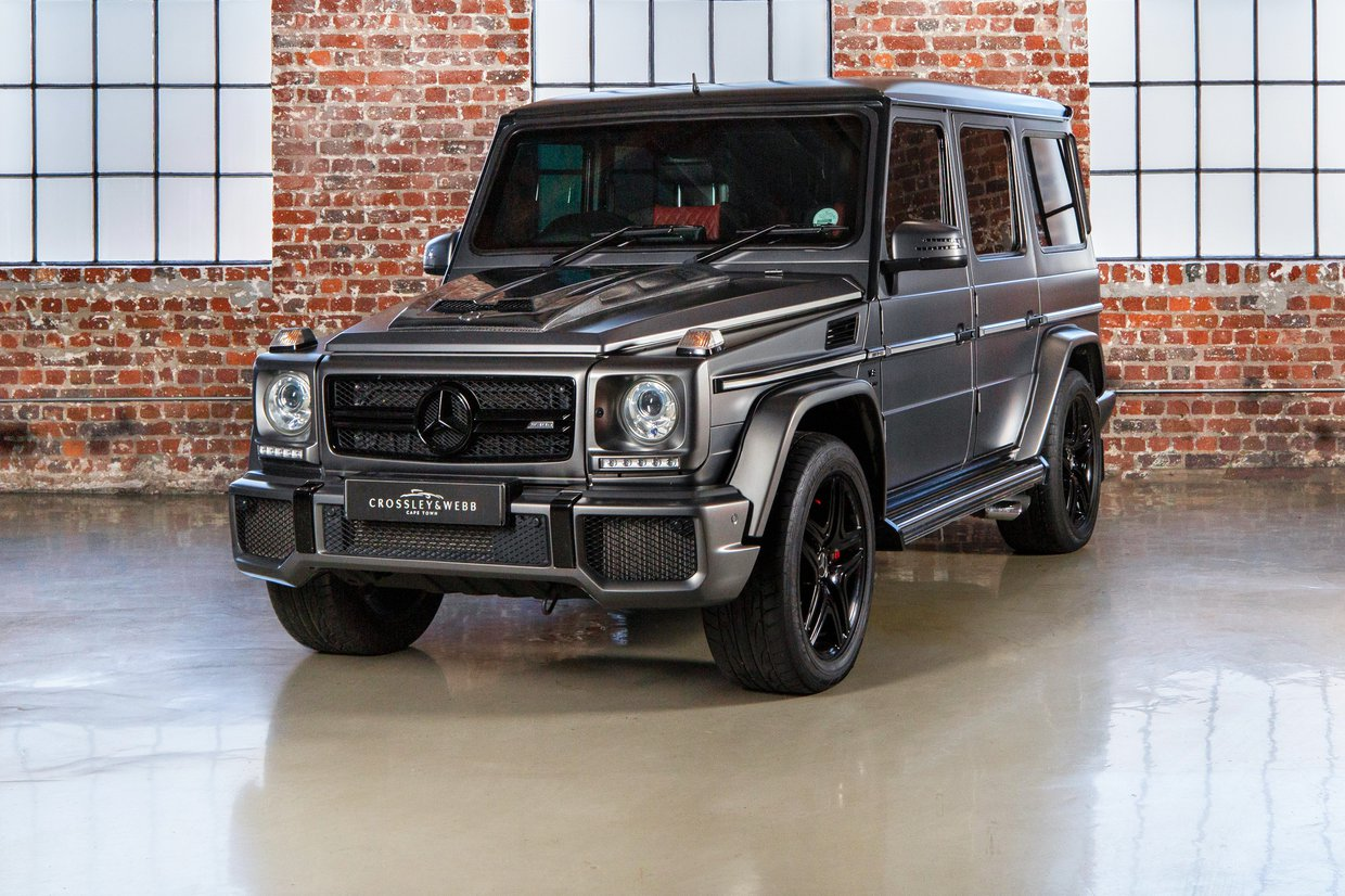 Mercedes Benz G63 - B6 Armoured Vehicle