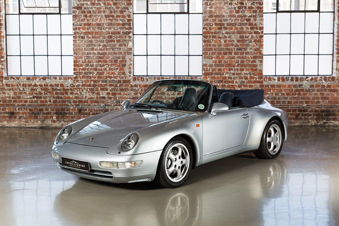Porsche 993 Carrera 4 Cabriolet RHD - 127 000Km