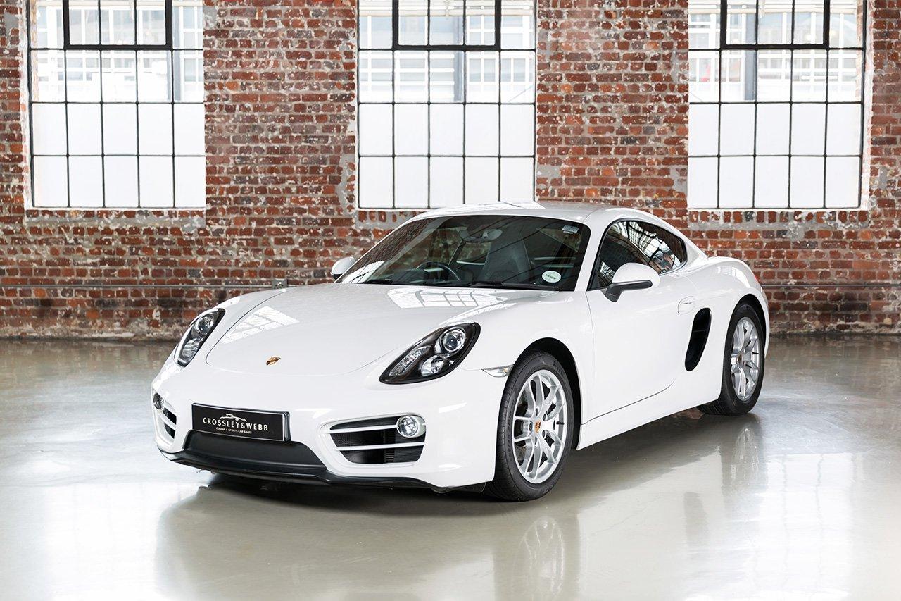 Porsche Cayman + Sport Chrono