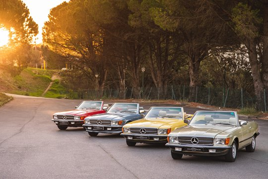 50th Anniversary of R 107 Mercedes Benz SL production