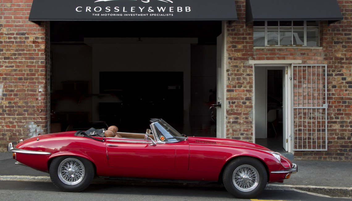 Jaguar E Type V12 Roadster