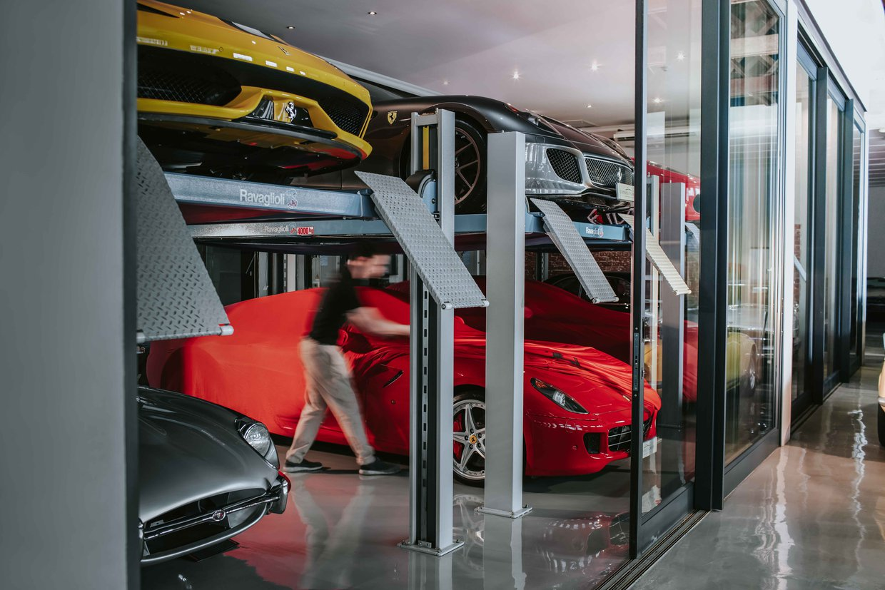 Crossley & Webb | Car Storage & Management